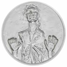 Star Wars Han Solo in Carbonite 2 oz High Relief Silver Proof Coin