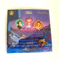 NEW DISNEY PARKS 2019 ALADDIN 4 PIN BOOSTER SET