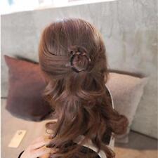 Women Geometric Triangle Round Leopard Hairpin Hair Clips Pins Hair Accessories1