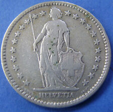 Zwitserland - Switzerland - 2 francs 1894 A - KM# 21