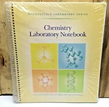 brooks/cole chemistry laboratory notebook Sealed