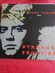 Roger Taylor Strange Frontier 1984 UK vinyl LP + Inner VG+ Queen