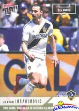 2018 Topps Now MLS #15 ZLATAN IBRAHIMOVIC LA Galaxy 2 Shots,2 Goals in Win MINT