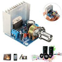 AC/DC 12V TDA7297 2x15W Digital Audio Amplifier DIY Kit Dual-Channel Module Jh