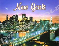 NEW YORK - Travel Souvenir Flexible Fridge Magnet