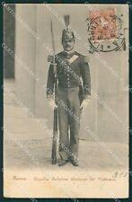 Roma Città del Vaticano Costumi Guardia Palatina PIEGA cartolina XB0033