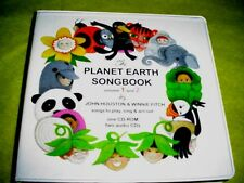 The Planet Earth Songbook -vol. 1 & 2 - Music Teachers ( 1 Cd-Rom, 2 audio Cds)