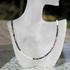 Handgefertigte Echtschmuck-Halsketten Turmalin