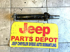 JEEP WRANGLER REAR DRIVE SHAFT 87 88 89 4.2L 6CYL 4.0L 91-95 YJ DRIVE-LINE
