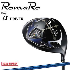 RomaRo Golf Japan Ray α Driver RJ-TF Conforms to SLE Rule Model alpha 2021c