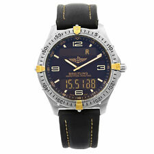 Breitling Aerospace Titanium Grey Dial Analog Digital  Quartz Mens Watch F56059