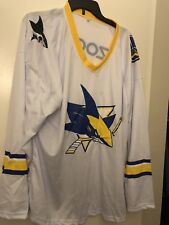 4d55dedfe San Jose Sharks Golden State Warriors SGA Jersey. Size XL. NWOT.