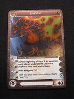 Chaotic Trading Card BIERK Creature 17/100 Foil MINT