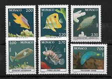 Monaco Scott 1610-1615 set mint never hinged nice color ! see pic !