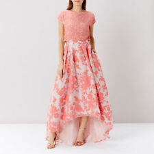 COAST Bliss burnout organza high low wedding / prom / races skirt size 6