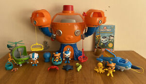 Octonauts Complete Octopod Playset With Working English Octoalert, Gups H & R, D