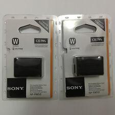 2x NP-FW50 Fr Sony Alpha NEX-3 3D 3DW 3K 5K 5C NEX-3C NEX-5 5DB 5HB A55 A33 FW50