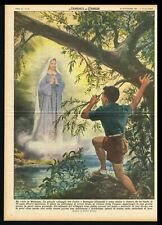 Vision of Virgin Mary, Madonna by a Boy in Calais France, DDC Cover, Molino 1953