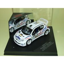 PEUGEOT 206 WRC RALLYE DE CATALOGNE 2000 F. MOREL VITESSE SKID SKM151 1:43