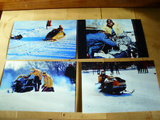 Vintage Ski Doo Snowmobile Double Eagle & X-2R Sled Speed Run Race Pictures LOT