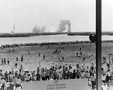 Apollo 11 Saturn V Rakete Launch Nasa 8x10 Silber Halogen Fotodruck