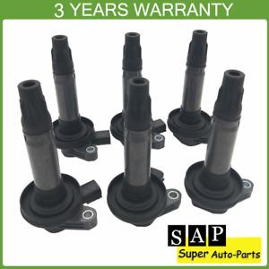 6X Ignition Coils For Ford Edge Explorer F-150 Taurus MKS MKT 07-16 7T4Z-12029-E
