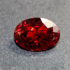13.89CT Red Ruby Pigeon Blood Unheated 12X16MM Diamond Oval Cut Loose Gems TR