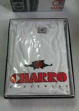 OFFERTA !!!! 3 T-SHIRT UOMO CHARRO ART. 0052 GIROCOLLO IN COTONE M-L-XL-XXL