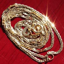 """gucci style link chain vintage 1.25gr 10k yellow gold necklace 20.0"""" solid"""