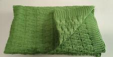 Baby-Decke Kuscheldecke Schmusedecke Babydecke Bio Baumwolle GRÜN 70x90 cm