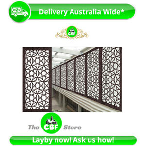 5 PACK - Madrid - Australian Made Privacy Wooden Outdoor Screens - 600x1200mm