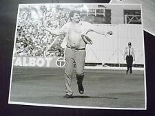 Cricket Press Photo- Vandalism in 1981 England v Aust. Test Match