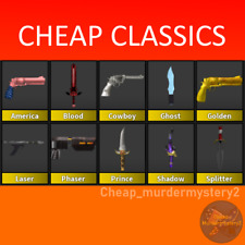 💰CHEAPEST💰 MM2 SUPER RARE CLASSICS ROBLOX *FAST DELIVERY* (Read Description!)