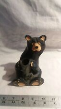 "JEFF FLEMING'S BIG SKY CARVERS BEARFOOTS Pencil Holder 51/2"" Tall"