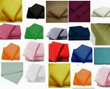 Flat Bed Sheet Essentials Flat Sheet Poly Cotton Single Double King Super King