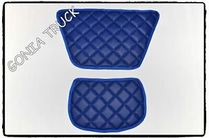 """TWO SMALL MATS ON THE DASHBOARD """"ECO LEATHER"""" for DAF XF 105/106"""