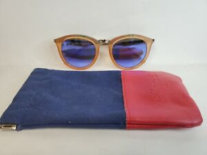 Le Specs Mirrored Sunglasses with Storage Bag