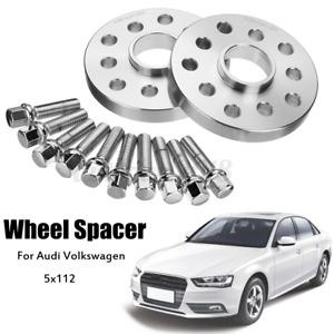 2x Cale Élargisseurs de Voie 20mm 5x112 Ø 57.1mm Centrage pour Audi A3 A4 A6 A8