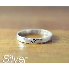 Personalized name ring, Hand stamped jewelry,Customized ring, Free Engraving