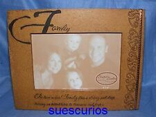 Ceramic Family Photo Picture Frame Present Gift Birthday Nice New Home