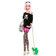 2011 NRFB Barbie Tokidoki Simone Legno Gold Label Doll Pink Hair Toki Doki T7939