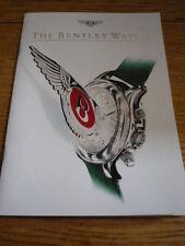 Bentley WATCH opuscolo JM
