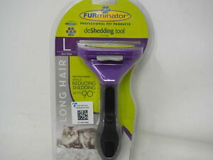 Large Cat Long Brush FURminator Grooming deShedding Tool Comb