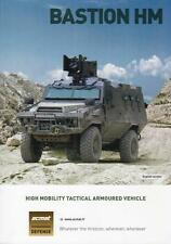 ACMAT BASTION HM 2016 4x4 FRENCH ARMY MILITARY BROCHURE PROSPEKT FOLDER