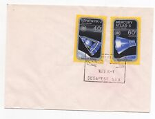 1975 HUNGARY Cover MALEV HUNGARIAN AIR TRANSPORT Cancel SG2965/6 Space