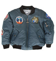 New Up and Away Toddler NASA Space Shuttle Jacket Size 4T