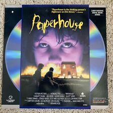 Paperhouse Laserdisc - VERY RARE HORROR