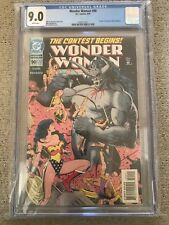 1994 Wonder Woman #90 Mike Deodato 1st Appearance ARTEMIS Boland Cover CGC 9.0