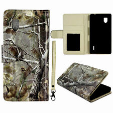 Camo fall  RT Wallet Flip PU Leather for LG Optimus G LS970 case cover