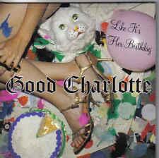 Good Charlotte-Like Its Her Birthday cd single Sealed